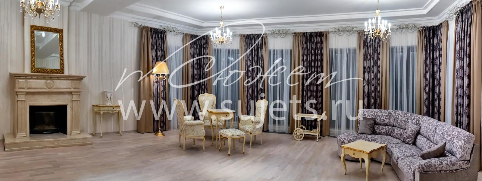 Комплектация мебелью и предметами интерьера